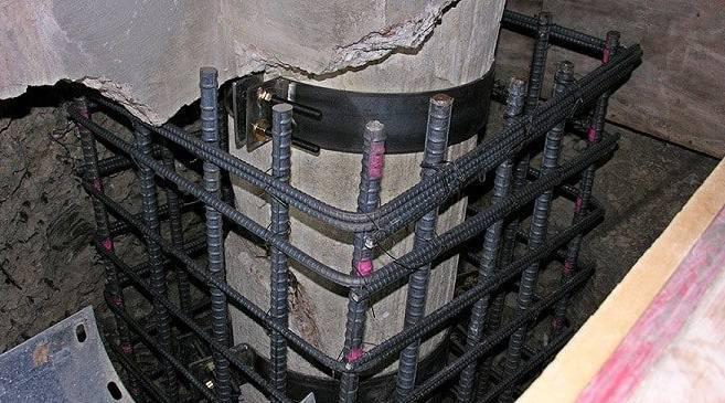 Sửa chữa phục hồi kết cấu bê tông