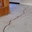 Nứt sàn bê tông do lún
